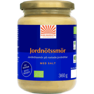 Jordnötssmör med salt smooth 360 g
