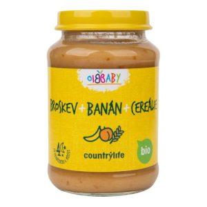 Barnmat persika, banan & spannmål 190 g